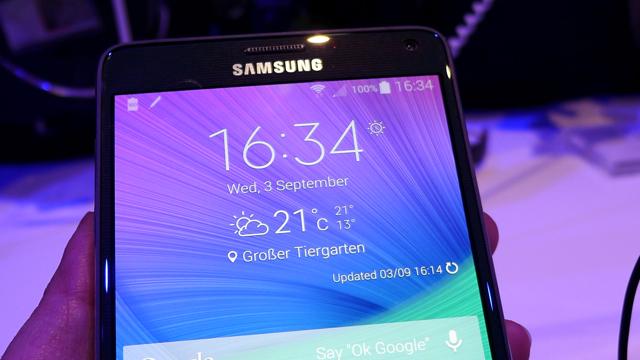 Números enormes: Samsung Galaxy Note 4 (e outros bichos)