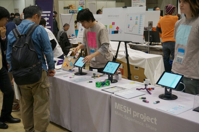 Sony_MESH_makers_faire