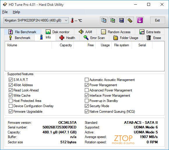 Kingston_SSD_Predator_HDTach_info