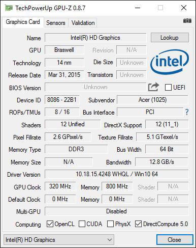 Acer_Cloudbook_ES14_GPUZ