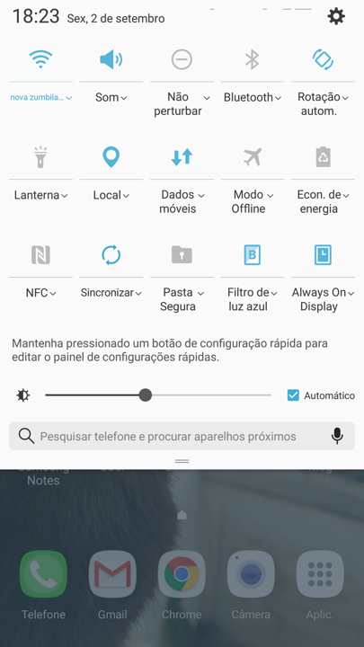 Samsung Galaxy Note 7 screen - 1