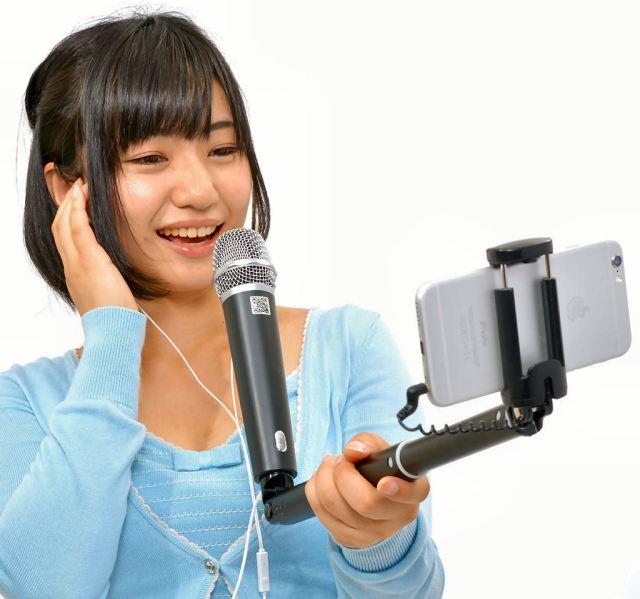 thanko_pau_selfie_mic_karaoke