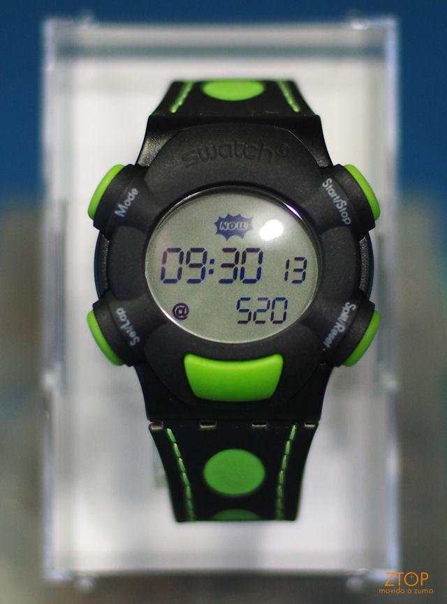 Retrotech: Relógio Swatch beat com Internet Time | ZTOP+ZUMO
