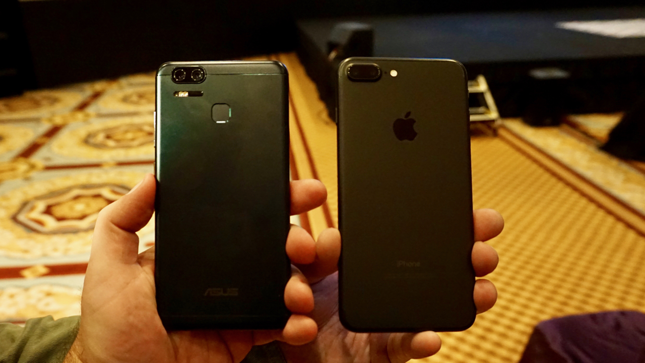 Asus Zenfone 3 Zoom Mira Na Foto Acerta No IPhone 7 Plus