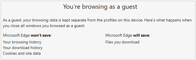 You're browsing as guest