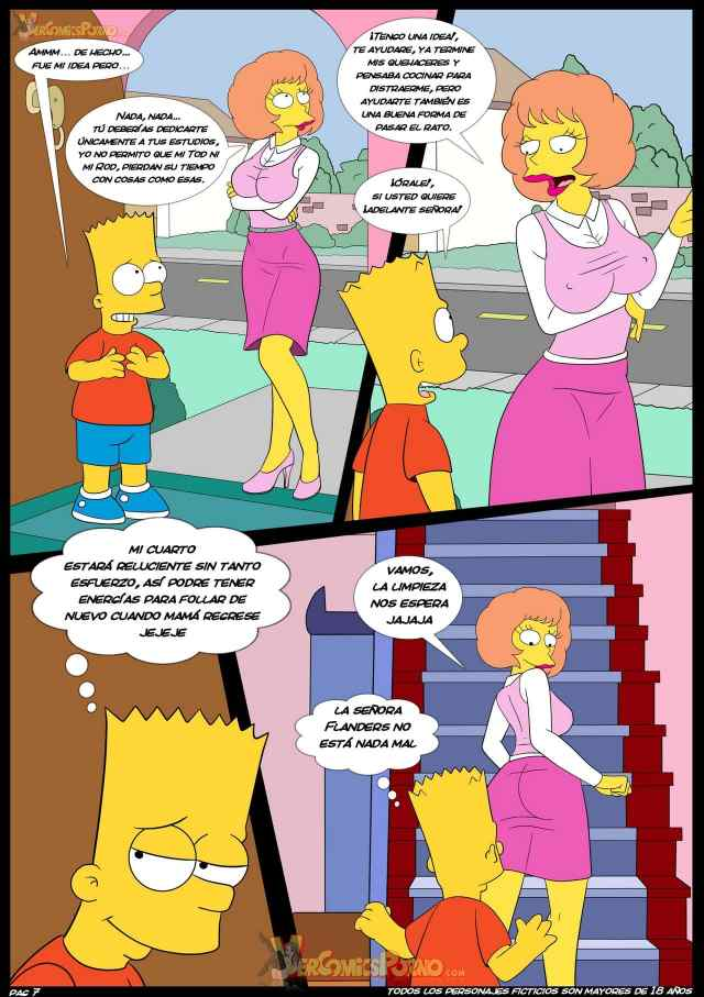 Porn With The Simpsons