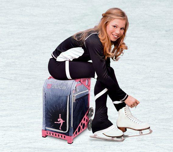 ZUCAでアイススケーティング、フィギアスケート
