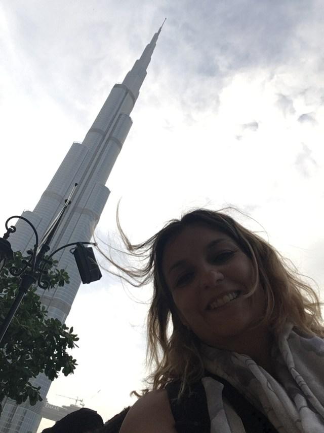 Selfie al Burj Khalifa