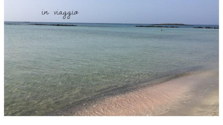 La spiaggia rosa di Elafonissi, Creta