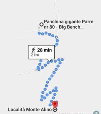 Monte Alino. big bench val serianaa