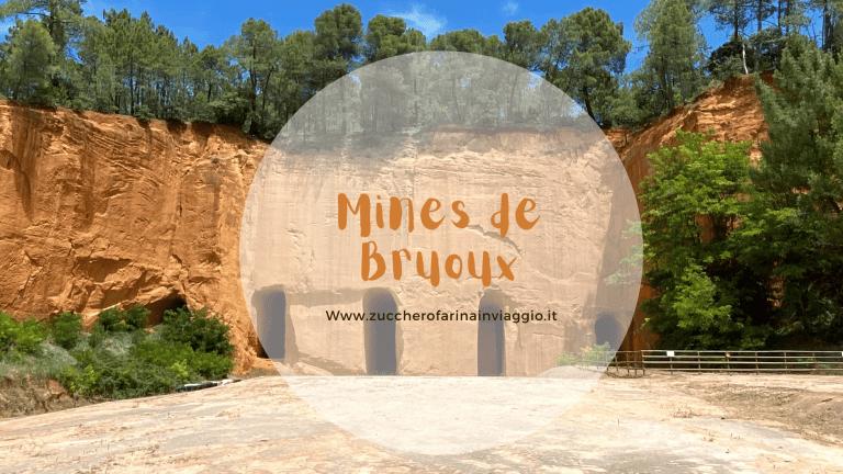 Visitare le miniere dell'ocra Mines de Bruoux