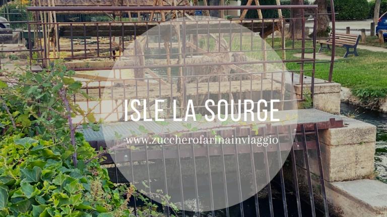 Isle la Sourge mulini acqua