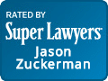 Jason Zuckerman at Super Lawyers