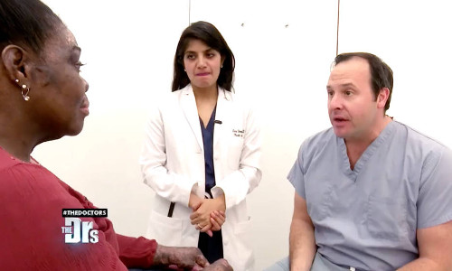 Dr. Zuckerman appeared on an episode of The Doctors TV show on CBS for a preoperative evaluation of a severe burn victim who requires a complex plastic surgery reconstruction.