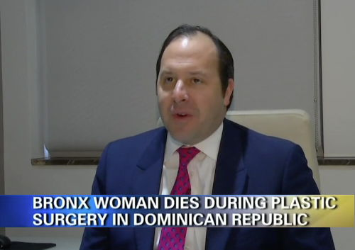 On News12, Dr. Zuckerman discusses the risk of plastic surgery performed internationally after a young NYC woman dies shortly after a routine cosmetic surgery procedure, a tummy tuck, in the Dominican Republic.