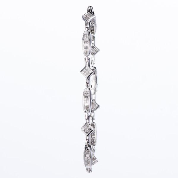 2ct Diamond bracelet set with white gold ホワイトゴールド製ダイヤモンドブレスレット