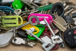 different types of keys