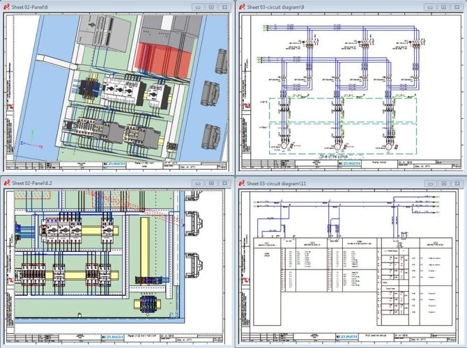 electrical panel design software and routing in 3d  e3