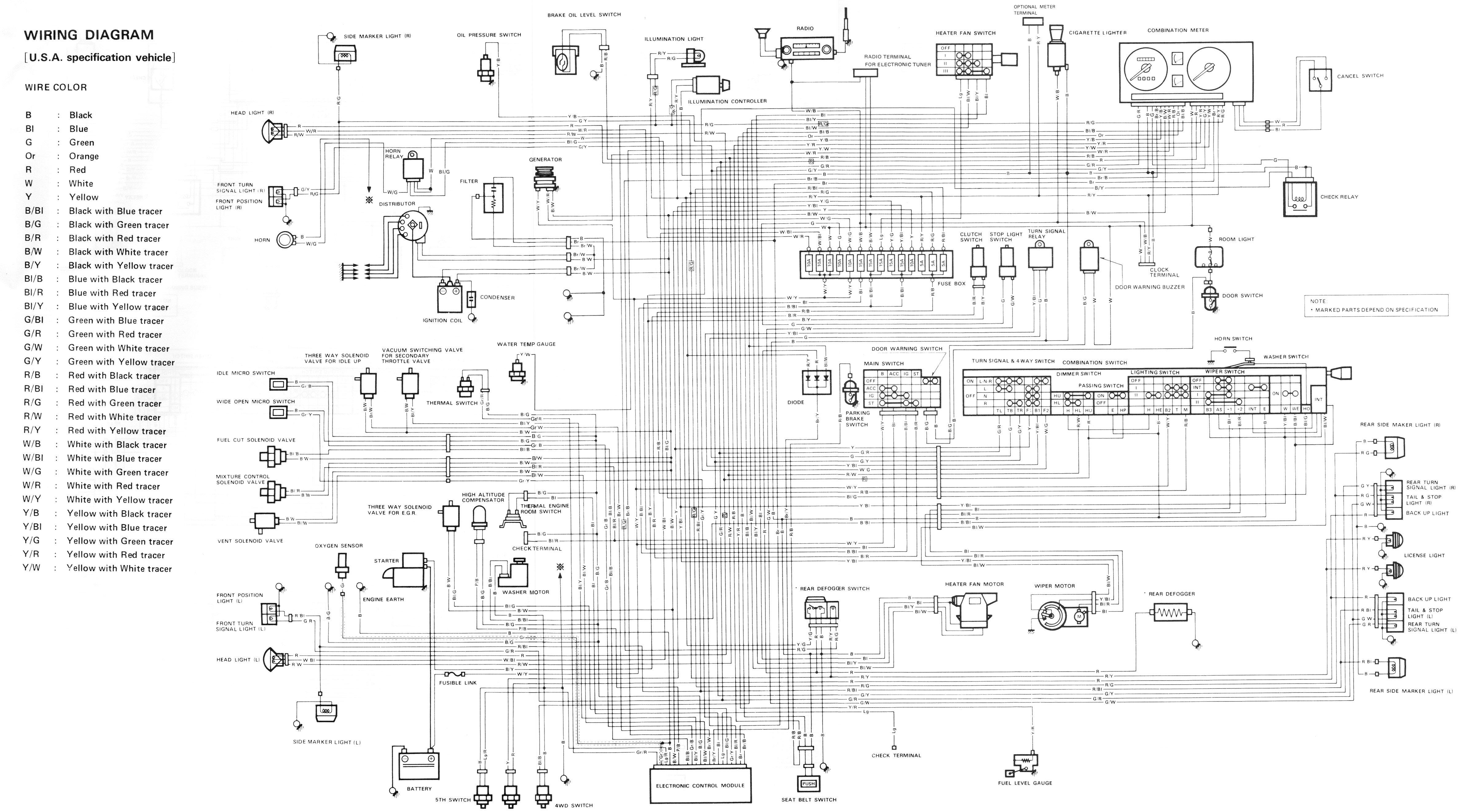 1997 Suzuki Sidekick 1600 And Sport 1800 X90 Wiring Diagram Manual