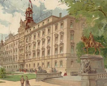 Hotel Silber im 19. Jahrhundert