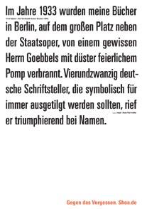 Erich Kästner: »Bei Durchsicht meiner Bücher«, 1946.