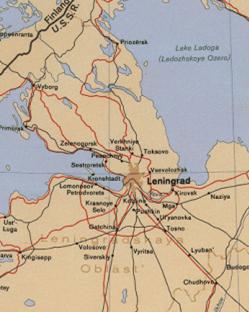 Das belagerte Leningrad