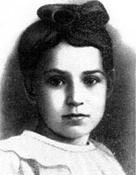 Das zwölfjährige Leningrader Mädchen Tanja Saviceva