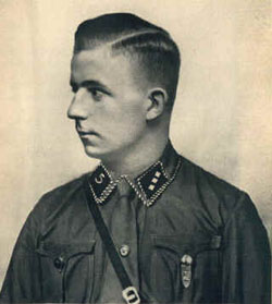 Horst Wessel in SA Uniform.
