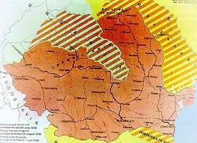 Rumänien nach dem Mit dem Zweiten Wiener Schiedsspruch