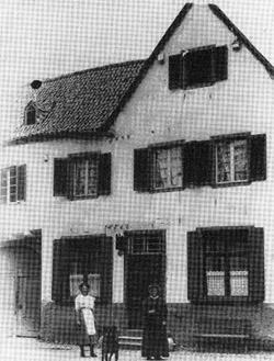 """Das Geburtshaus von """"Jupp"""" Weiss in Flamersheim"""