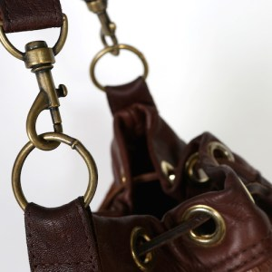cowhide bucket bags brown and white leather bags, fashion accessories, womens' accessories handmade