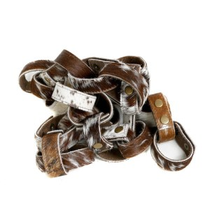 Nguni cowhide cuffs, bracelets, black and white, womens accessories, fashion accessories