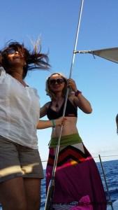 ZUMBA Catamaran im Camp in iBiza 2015 Songül Junge- Ayhan Sulu- ZUMBA Thini - Jana Schuechter -Greb152