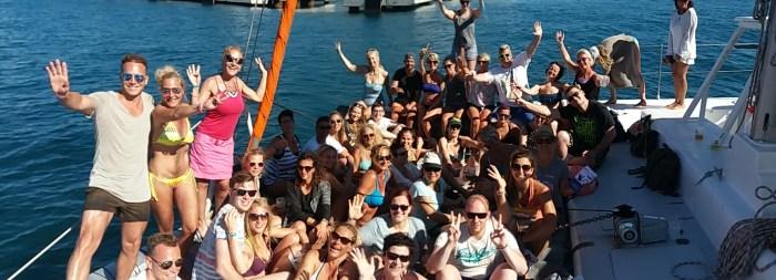 ZUMBA, Catamaran, Fitness,Dance, Camp ,iBiza