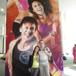 zumba instructor conference Los Angeles 2014 racquel bulleser en nic jassogne