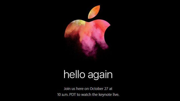 Apple新Mac発表2016日!28日午前2時~