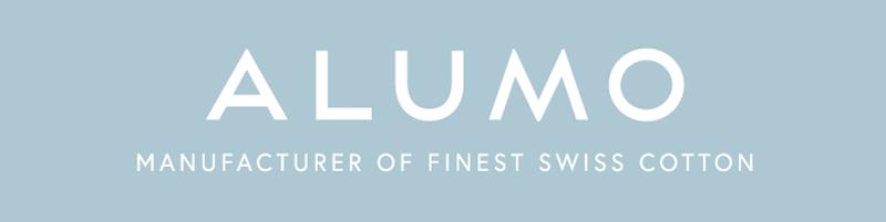 Alumo Hemdenstoffe Logo aus der Schweiz