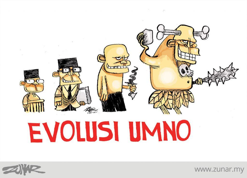 CARTOONKINI-EVOLUSI-UMNO-6-DIS-2012