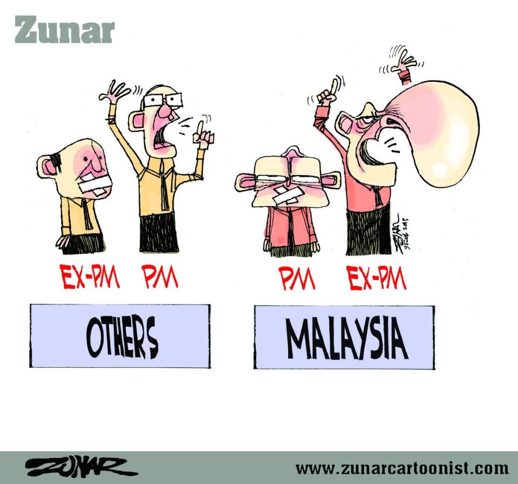 MALAYSIAN PM 1 FEB 2013