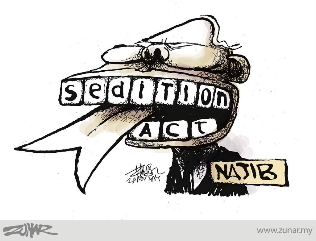 Cartoonkini-Sedition-Act-28-Nov-2014
