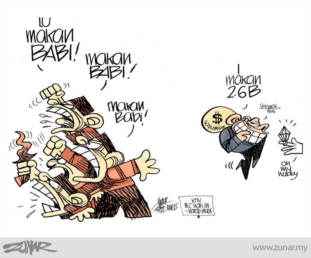 Cartoonkini-Makan-Babi-20-Seppt-2015-PARIS