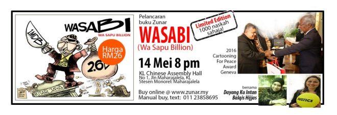 Poster Pelancaran WASABI (1)