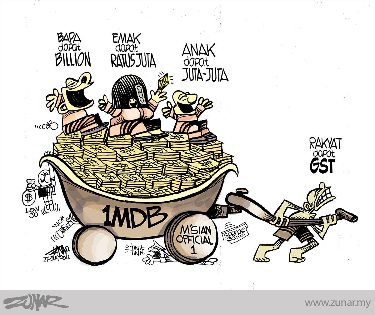 Cartoonkini-1MDB-GST-27-July-2016