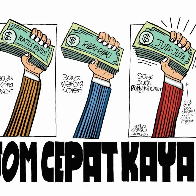 WEB Cartoonkini CEPAT KAYA 12th May 2020 (Custom)