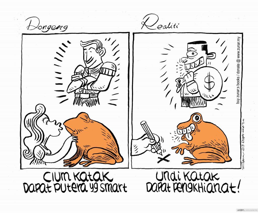 WEB Cartoonkini DONGENG KATAK 23 Sept 2020 (Custom)
