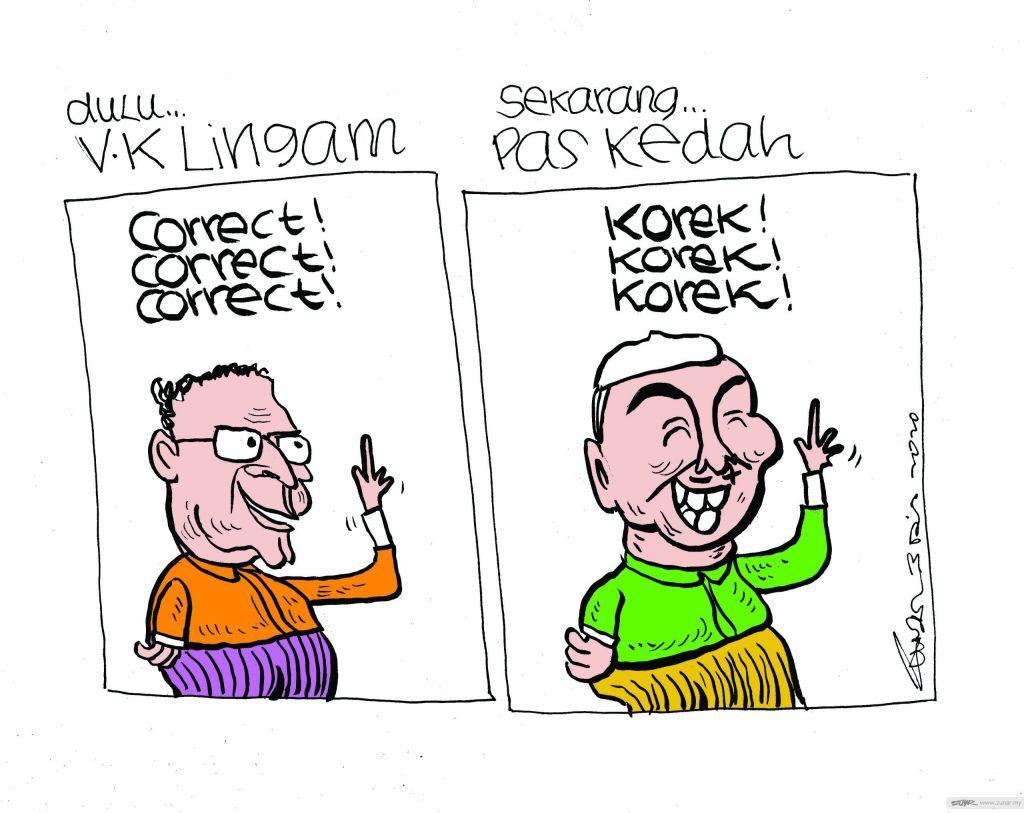 WEB Cartoonkini PAS KEDAH 3 Dis 2020