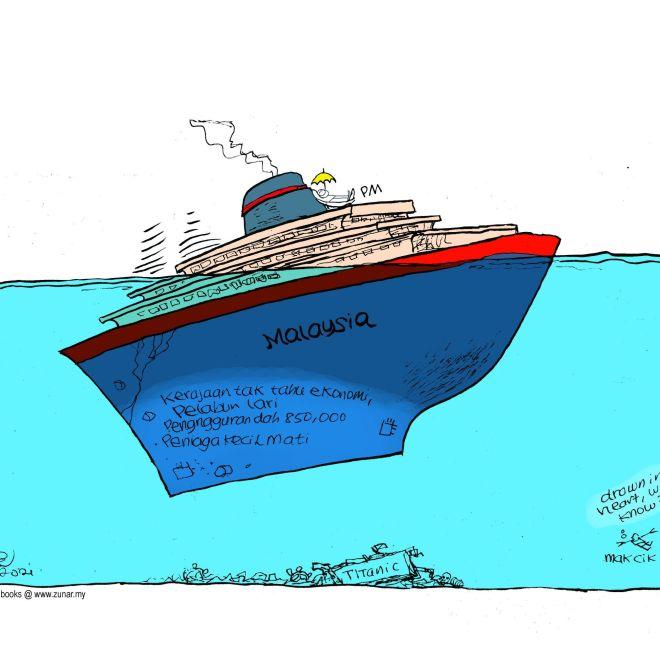 Cartoonkini KAPAL KARAM 24 Feb 2021
