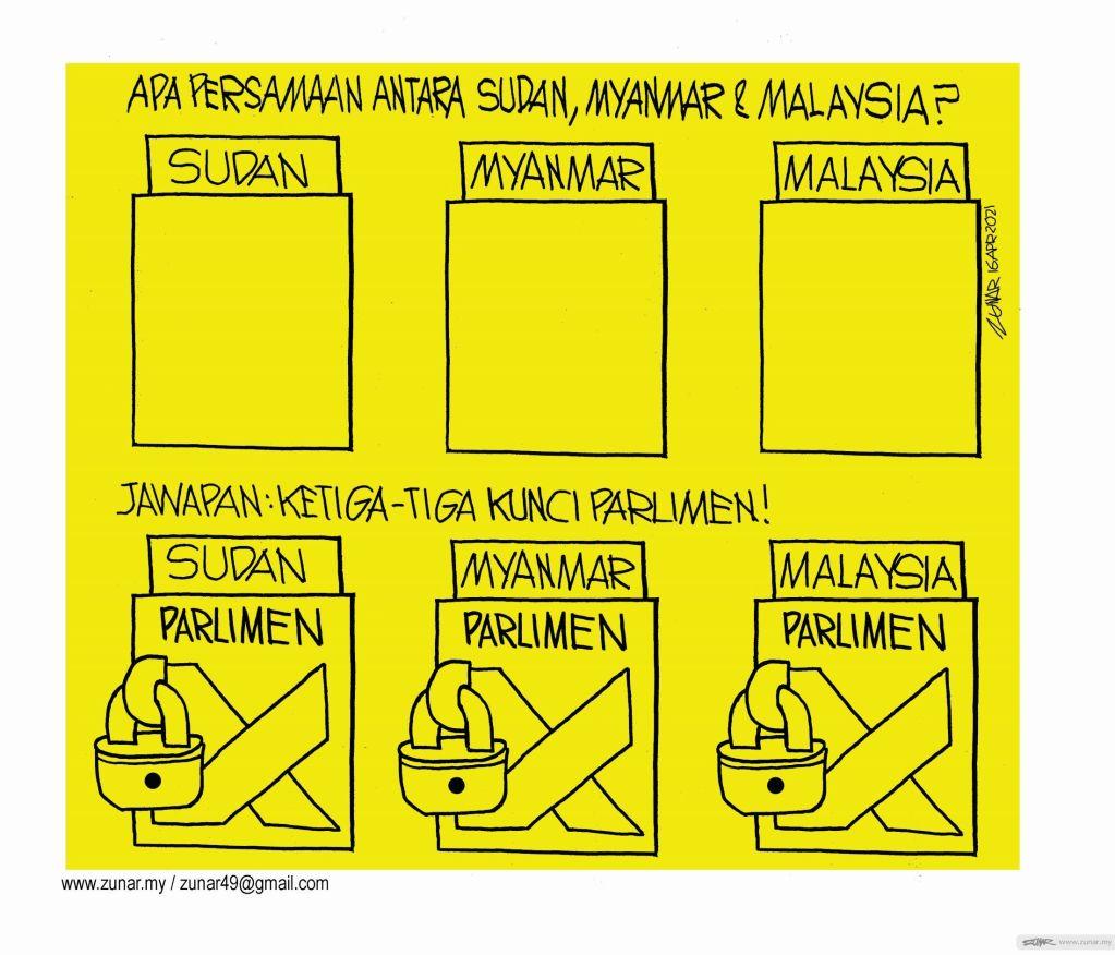 WEB Cartoonkini KUNCI PARLIMEN 12 April 2021 (Custom)
