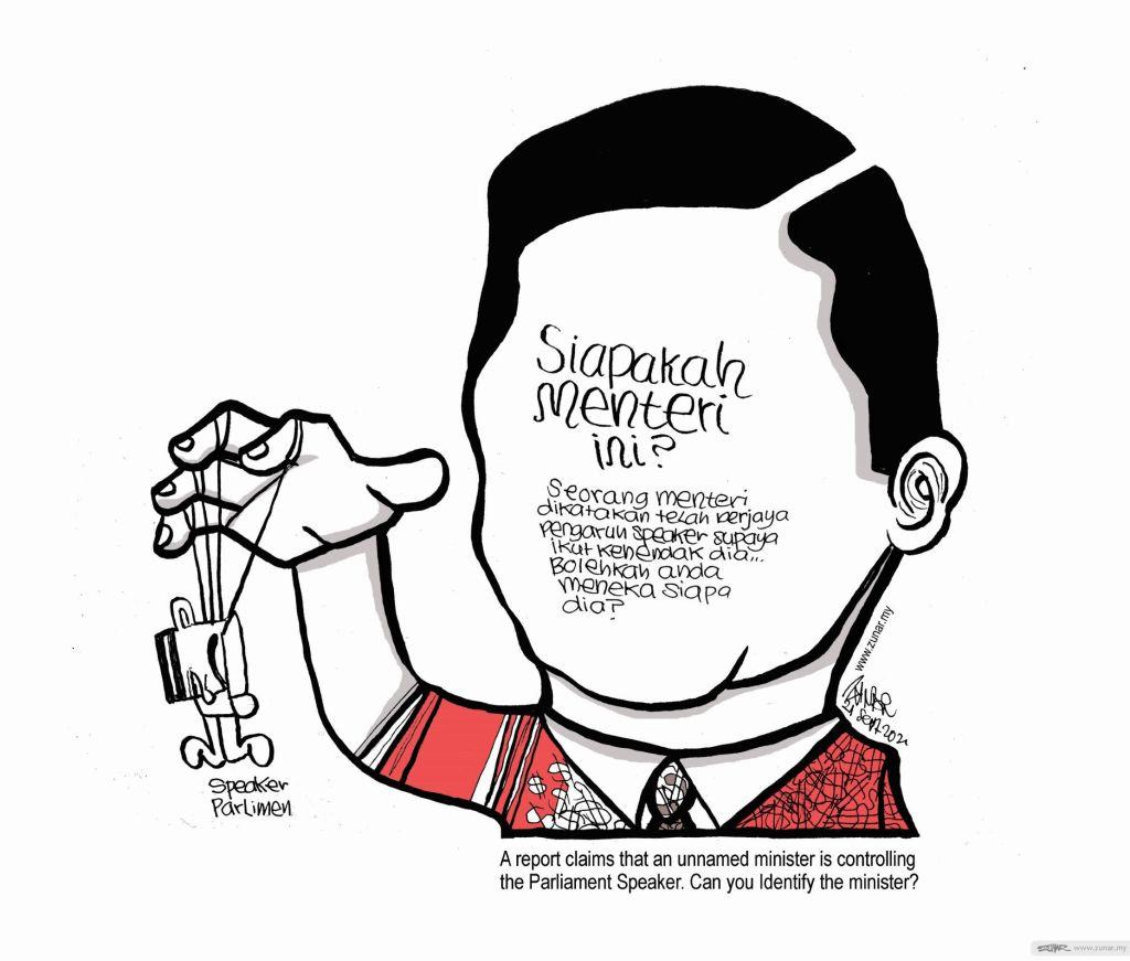 WEB Cartoonkini SIAPAKAH DIA 21 Sept 2021 (Custom)