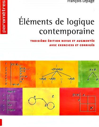 Eléments de logique contemporaine 3e édition